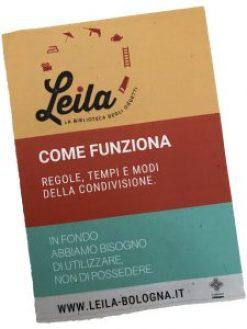 Leila Bologna per l'economia della condivisione