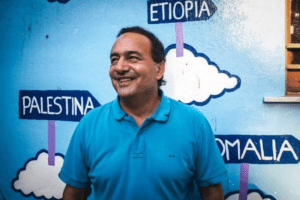Il sindaco di Riace Mimmo Lucano