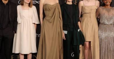 La figlia di Angelina Jolie ricrea il suo look agli Oscar 2014 alla premiere