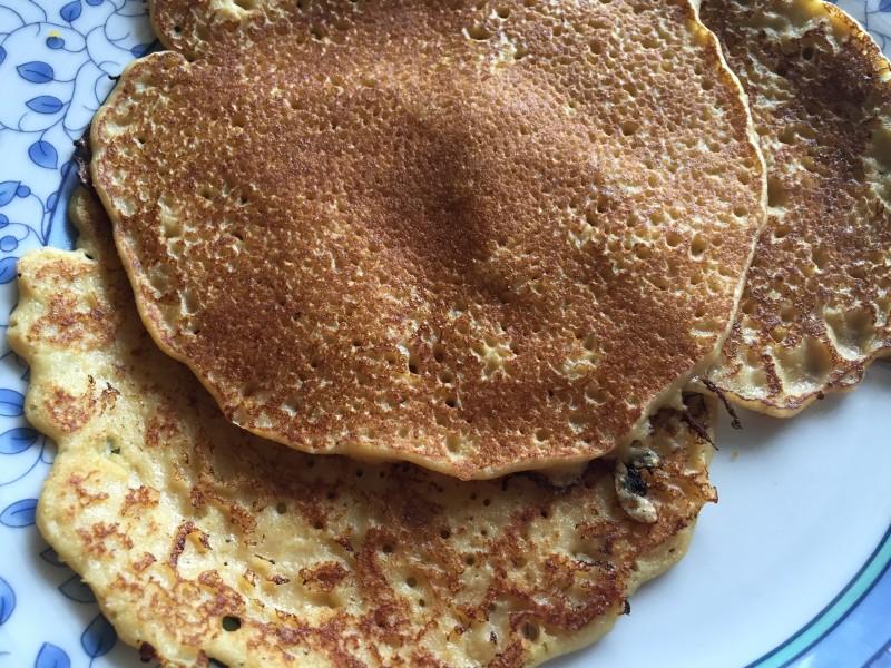 Swedish Pancakes Closeup