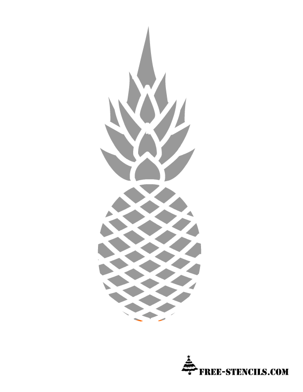 Really Cute Thanksgiving Wallpaper Free Printable Pineapple Stencils