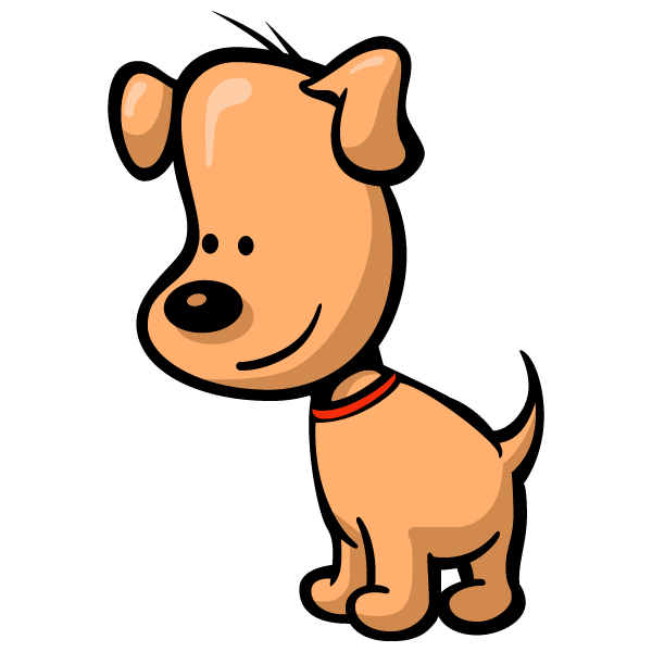 Cartoon Dog Illustration Download Free Vector Art Free