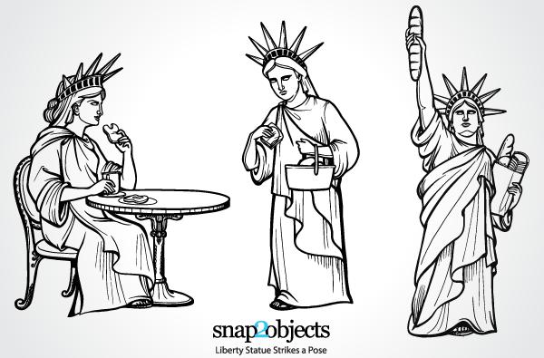 Statue of Liberty Vector Free Download Free Vector Art