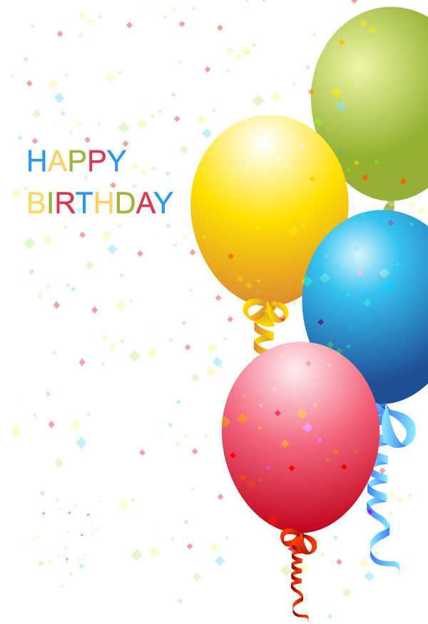 Birthday Template Free Vector Download Free Vector Art