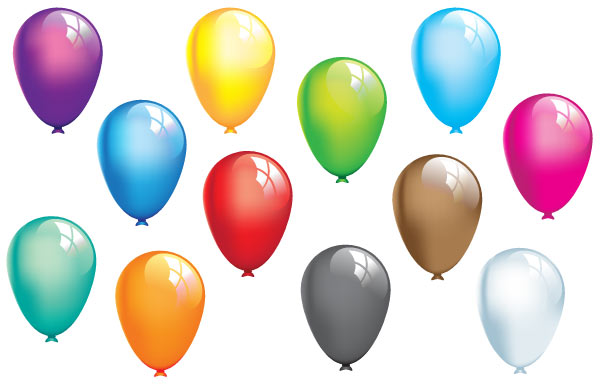 Free Balloons Vector Graphics Download Free Vector Art
