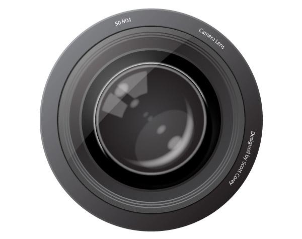 Vector Camera Lens Download Free Vector Art FreeVectors