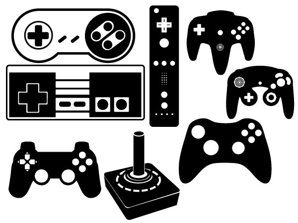Vector Game Controller Download Free Vector Art Free