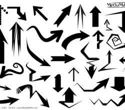 Free Arrows Vector Illustrator Set-3