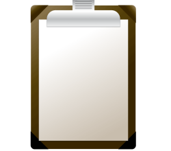 Free Clipboard Vector Illustration