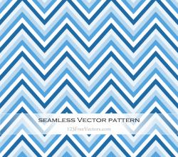 Blue Chevron Pattern Background Illustration