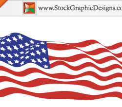 Usa Flags Free Vector Graphics