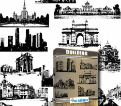 Buildings Free Vector Pack