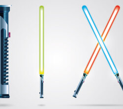 Free Lightsaber Vector