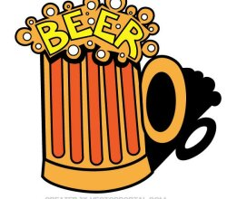 Beer Mug Vector Art