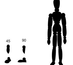 Vector Artist's Model Figure