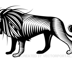Lion Graphic Image