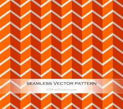 Orange Chevron Background