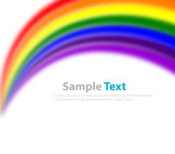 Rainbow Vector Background Ai