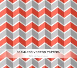 Orange and Grey Chevron Pattern Background