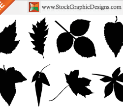 Leaf Silhouettes Free Clip Art Images
