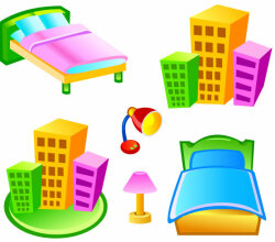 Free Vector Hotel Icons