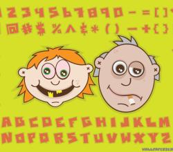 Vector Cartoon Character Image