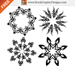 Ornate Design Elements Free Vector Graphics Illustration