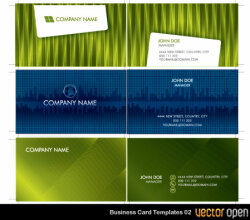 Vector Business Card Templates 02