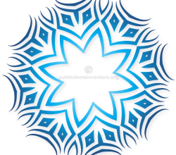 Vector Clip Art Tribal Design