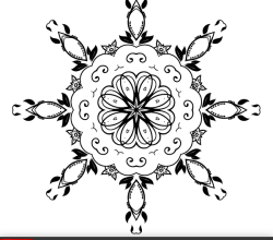 Vector Floral Ornament Design Elements