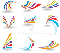 Vector Colorful Abstract Logo Design