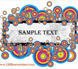 Text Banner Vector