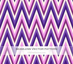 Purple and Pink Zigzag Pattern Background