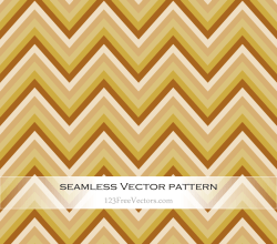 Retro Zigzag Pattern Vector