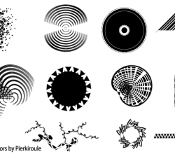 Abstract Shapes Vector