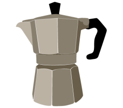 Coffee Pot Vector