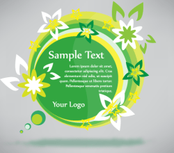 Free Vector Green Eco Banner