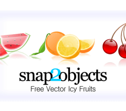 Free Icy Fruits Vector