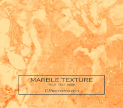 Orange Marble Texture Background