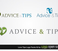Love Tips Logo Pack
