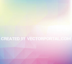 Abstract Colorful Polygon Background Design Vector Graphics