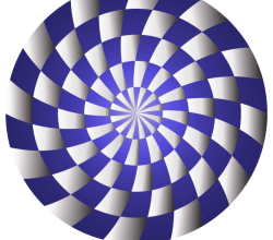 Spiral Optical Illusion Vector Illustrator
