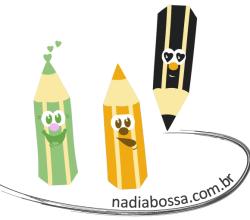 Vector Cartoon Pencil