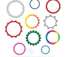 Gear Wheels Vector Images