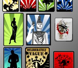 Background Designs Vector Illustrator Pack