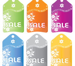 Sales Tag Vector Free