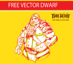 Free Vector Download – Dwarf