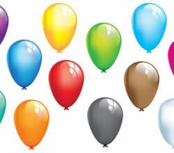 Free Balloons Vector Graphics