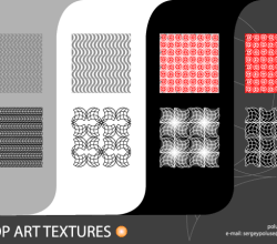 Pop Art Free Vector Texture