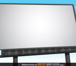 Billboard Vector Free